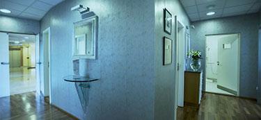 Zahnklinik Budapest behandlungszimmer