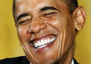 Obama Zähne